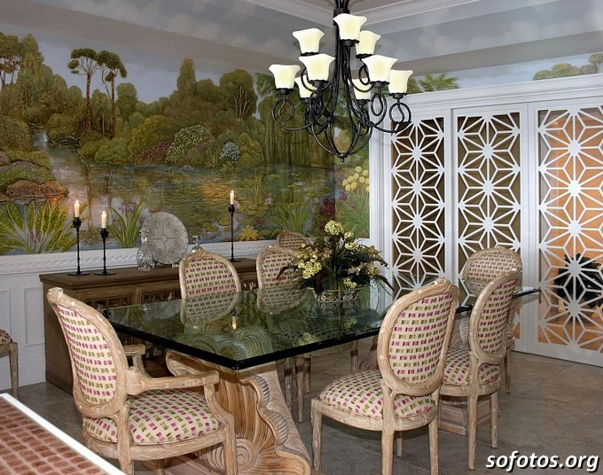 Salas de jantar decoradas (8)