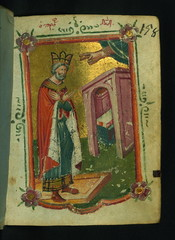 Book of Hours, King David Praying, Walters Manuscript W.534, fol. 158r (Walters Art Museum Illuminated Manuscripts) Tags: book miniature illumination christian greece devotion manuscript byzantine waltersartmuseum codex 15thcentury bookofhours horologion originalbinding