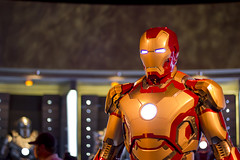 Iron Man (R. Zavala) Tags: disneyland ironman disney tomorrowland innoventions disneylandresort