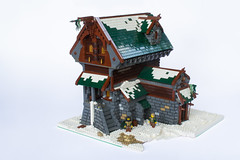 Avalonian Embassy (roΙΙi) Tags: cheese lego embassy winner historica challenge2 avalonia cheeseslope mitgardia guildsofhistorica