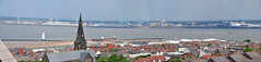 A view of New Brighton from the roof of St peter & Pauls church (sab89) Tags: new 2 green church st port liverpool docks work project river dock brighton harbour board ships group deep royal pauls terminal atlantic company peter dome gateway works peel bam mersey vessels wallasey wirral pilling nuttall seaforth panamax holdings