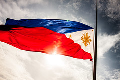 National flag of the Philippines (Herman Lumanog) Tags: flag philippineflag nationalflag