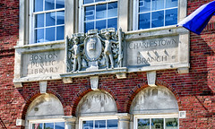 Former Branch Library, Charlestown, MA (PAJ880) Tags: art public boston facade ma branch library ornament charlestown former tamron bpl 18270