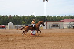 barrels (tammeperry) Tags: horse kids race cowboy barrel arena rodeo playday