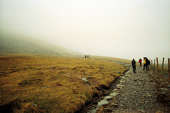(SC|Photography) Tags: park film wales 35mm hiking trail national snowdon
