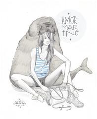 Amor Marino (carlossadness) Tags: