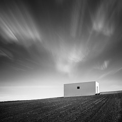 [ cuboid ] (panfot_O (Bernd Walz)) Tags: longexposure sky blackandwhite bw house building monochrome clouds rural square landscape island countryside wind geometry fineart lanzarote minimal minimalism contemplation cuboid
