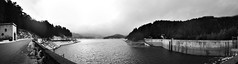 (Giuseppe Giacoppo) Tags: christmas winter vacation blackandwhite bw italy white lake holiday snow black mountains cold water norway clouds finland landscape sweden panoramic snowing calabria 5photosaday