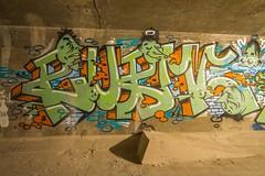 RUBME (TheLost&Found) Tags: family 2 urban art minnesota photography graffiti paint faces fuck painted secret exploring creative minneapolis tunnel down spot explore hidden characters graff fam palmetto pf urbex innovative rubme beps d2f