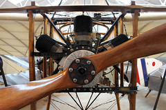 World's oldest airworthy engine (Graham Dash) Tags: aircraft engines planes shuttleworthcollection oldwarden gaang aeroengines bleriotxi anzaniengine