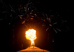Burning Man 2013: Cargo Cult Night of the Burn (Michael Holden) Tags: art fire playa burningman burning pyro cargocult michaelholden flameeffects fieart michaelholdencom bm2013 bman2013 burningmanmegaset