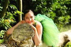 Hannah (mussy5) Tags: uk girl woodland kent log woods ballerina densole gimpsoftware smusgrove2013