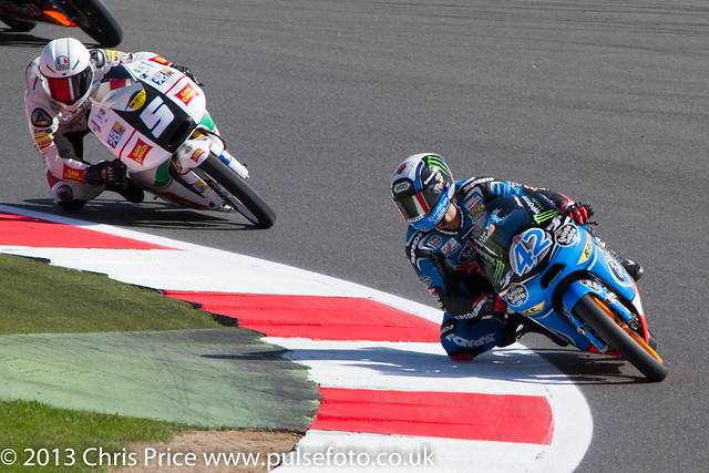 Alex Rins and Romano Fenati