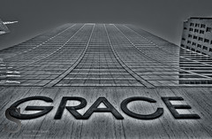 NYC Grace building BW- (Singing With Light) Tags: city nyc ny june photography pentax manhattan 2012 k5 jjp singingwithlight