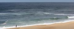 Ocean (Frd.C) Tags: ocean sea mer france canon eos surf alone vague plage bayonne