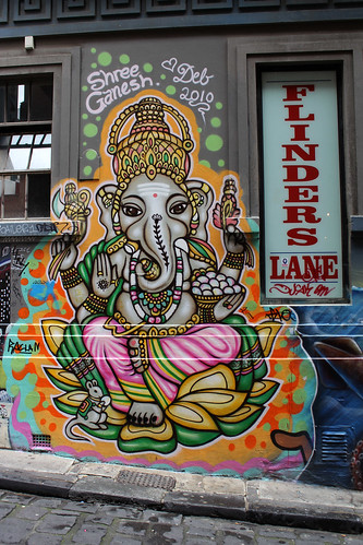Ganesh, Flinders Lane, Melbourne