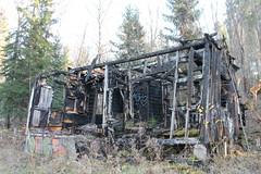 Aske-Mkki 1 (Lauri Laurn) Tags: autumn house abandoned finland cottage ruin hut burnt vihti laurilaurn