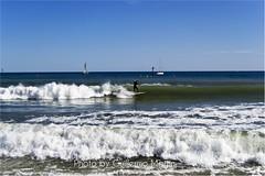 Mare Nostrum (Guimagoig) Tags: barcelona beach azul mar surf playa surfboard octubre blau ona ola mediterrneo platja stillsummer somorrostro supersnico
