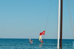 (Nadya Mars) Tags: autumn hot fall flag trkiye september antalya sail kemer parachute beldibi themediterranean themediterraneansea