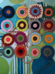 CROCHET BLANKET 1 (Crafty Brid Me) Tags: original baby flower cute beautiful mexico pattern counter stitch handmade sewing crochet craft books double scissors chain yarn needle single blanket anchor marker sunburst hook lovely granny triple tool dmc