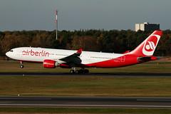 Air Berlin Airbus A330-223 D-ALPC  MSN 444 (Jimmy LWH) Tags: canon eos aircraft ab 7d airbus flugzeug 100400mm a330 avion txl vliegtuig ber a330200 airbusa330 aeroplano a330223 eddt airbusa330200  dalpc  msn444 lwh1988  31oct2013eddt