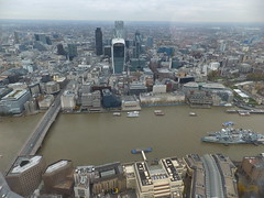 A trip to The Shard (erintheredmc) Tags: from city bridge house building london eye tower church saint by thames skyline modern floors court river temple hall big globe europe ship view cross cathedral ben tate erin walk top district piano parliament millenium pauls somerset belfast victoria queen queens master architect wellington western charing crown kensington 69 shard financial gherkin 72 bt oval southwark lambeth renzo mccormack unilever 68 hms tallest designed embarkment cathdral fenchurch walkie talkie uploaded:by=flickrmobile flickriosapp:filter=nofilter