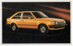 1982 Ford Escort GLX 2-Door Hatchback