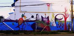 Autodefensa no es Terrorismo (Felipe Smides) Tags: streetart mural valdivia smides felipesmides