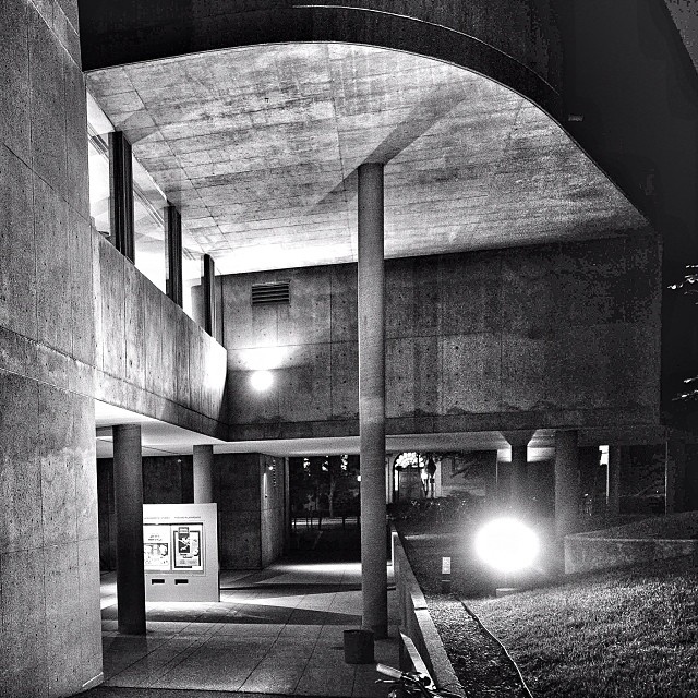 #hfa #harvardfilmarchive #harvard #film #archive #brutalism #concrete #architecture #sarinana #leicam3 #35mmfilm #blackandwhitefilm