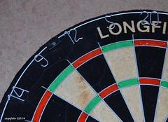 ...Let's play darts!!... (cegefoto) Tags: nikon 14 contest number darts wedstrijd nummer number14 longfield getal dartsboard d7000