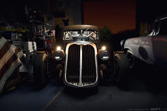 "Stumpys Toy Town Night Shoot Teaser ""Explored 100"" (NWVT.co.uk) Tags: uk light hot ford car night barn painting toy photography town nikon rat shoot ranger britain decay 1938 edsel automotive 1958 rod americana find global d800 ratrod barnfind stumpys nwvt"