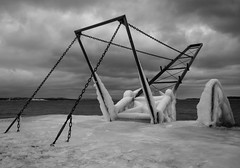 diving board in winterland (Odyssevs) Tags: norway board diving explore 65 sgrdstrand