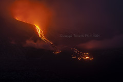 Etna (littletower.photo - www.giuseppetorretta.it) Tags: volcano lava nikon ngc sicily etna sicilia vulcano 2470mm lavaflow colatalavica d700 fractureofthecrater fratturacratere