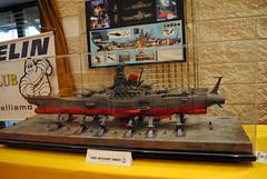 Modellismo (TAPS91) Tags: mostra space mais fantasy battleship yamato rosso sagra fantascienza 2 4 astronautica banchette