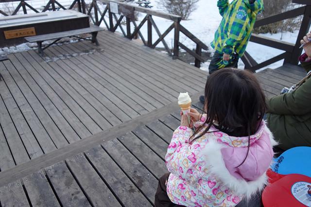 清里清泉寮のソフトクリーム