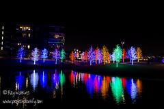 VitruvianPark-6 (projectidentifyphoto) Tags: christmas nightphotography bridge trees music cold reflection water lights nikon nightshot awesome christmaslights nighttime addison raywatkins d5100 vitruvianpark