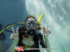 Learning to Scuba Dive-Feb 2014-6 (Squalo Divers) Tags: usa divers florida miami scuba diving learning padi squalo