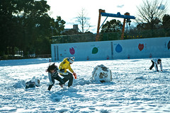 This is snowy weather is giving me cabin fever! (xio_olx) Tags: snow japan tokyo     hikarigaoka canonef2470mmf28l