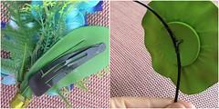 Carnaval: acessório de cabelo (super_ziper) Tags: tiara flores plantas handmade craft artificial fantasia bonita carnaval visual pássaros pente tictac tutorial pap cabelo fazer plástico rápido coque enfeite dyi elastico sugestão penteado acessório 25demarço aprenda superziper oniguiritropical