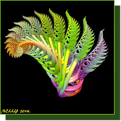 *Spring... (MONKEY50) Tags: flowers abstract black flower color colour art colors digital leaf spring colours fractal fractals autofocus beautifulphoto flickraward blinkagain musictomyeyeslevel1