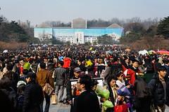 Graduating (TigerPal) Tags: students nikon crowd graduation ceremony korea korean seoul grad grads anam centralplaza koreauniversity d700