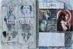 Artist research (magdalenasledzikowska) Tags: colour college idea artist sketchbook passion sketchbookpages artistresearch