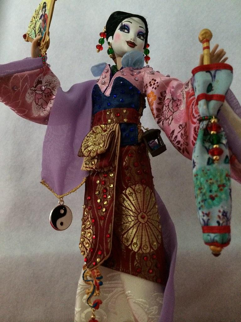 disney limited edition mulan doll