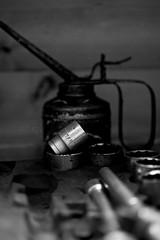 Seven eights of an inch (Through Bri`s Lens) Tags: colour can oil canon100mmf28macro socket selectivecolour socketset millimeters canon5dmk3