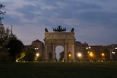 Arco della pace_ (FiPremo) Tags: street milan canon eos europa europe milano lombardia 6d