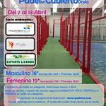 Torneo Bronce Padelencubierto (Onda) Abr2014