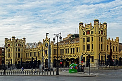 The North Station Valencia (Sony HX60V) (markdbaynham) Tags: city travel valencia spain sony cybershot espana spanish espanol es hx dsc cyber compact cuidad 60v sonyphotographing travelzoom hx60 hx60v digitaldepotcouk