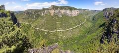 Panorama sur les gorges de la Jonte (ijmd) Tags: france landscape paysage gorgesdelajonte peyreleau lerozier caussenoir