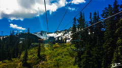 Whistler Ski Lift (rami_captures) Tags: blue trees sky snow canada ski mountains green nature grass vancouver clouds landscape whistler jasper lift hill samsung downhill sharp alberta biking banff mountainbiking s4