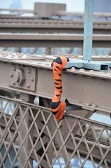 Tiger Tail (pjpink) Tags: nyc bridge summer newyork june architecture brooklyn brooklynbridge iconic 2015 pjpink